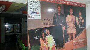 INIFD andhinagar for Lakme Fashion Week