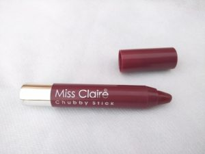 Miss Claire Chubby lipstick shade 39 Review
