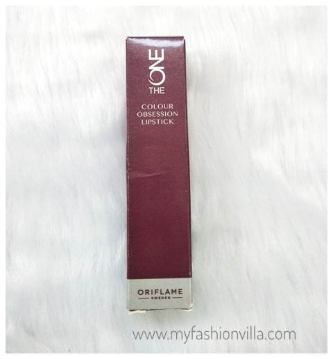 Oriflame Lipstick Review