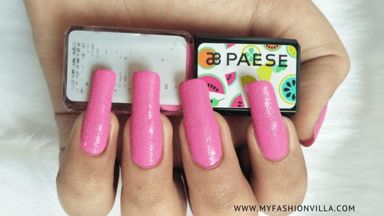 paese cosmetics nail polish
