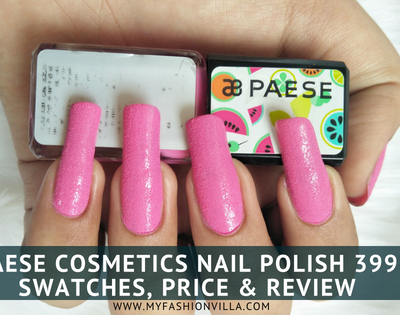 Paese Cosmetics Nail paint in 399