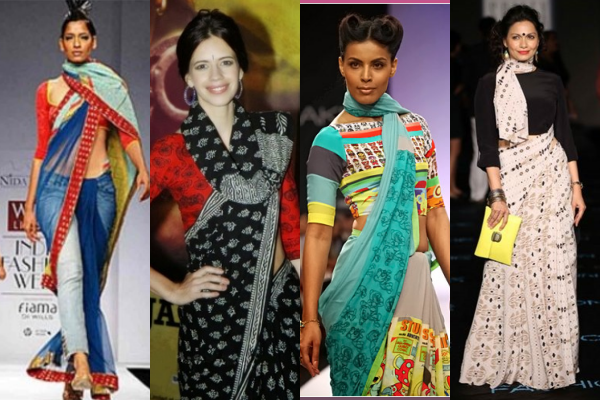 Saree Drape in Style