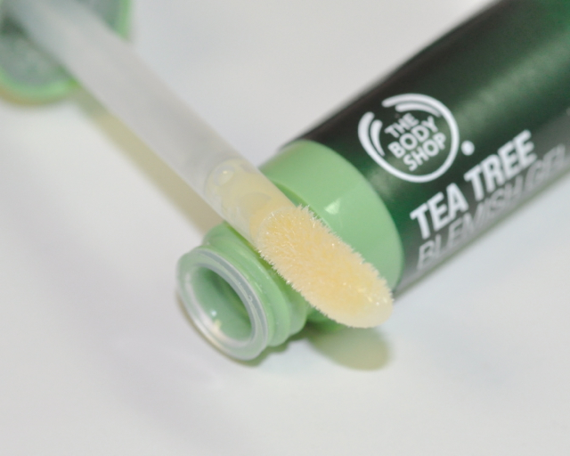 The body shop blemish gel applicator