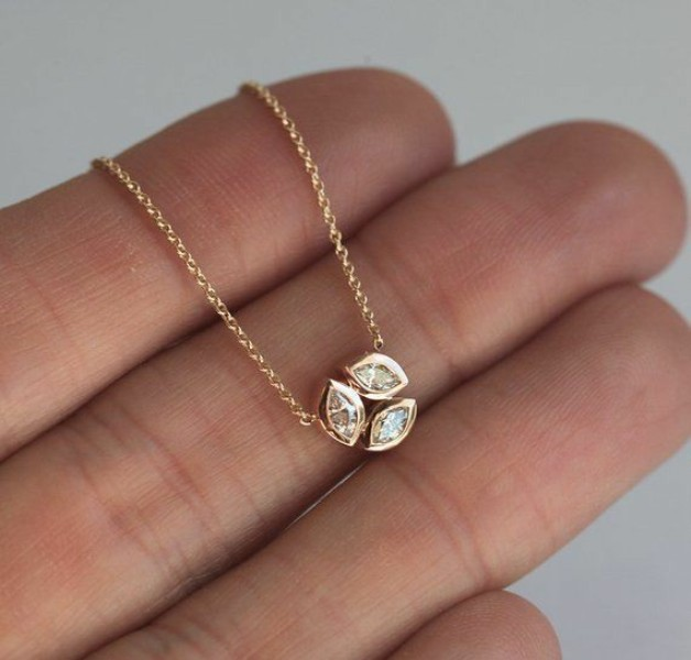 Small Diamond Neckpiece