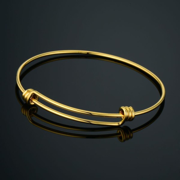 minimalist gold bracelet