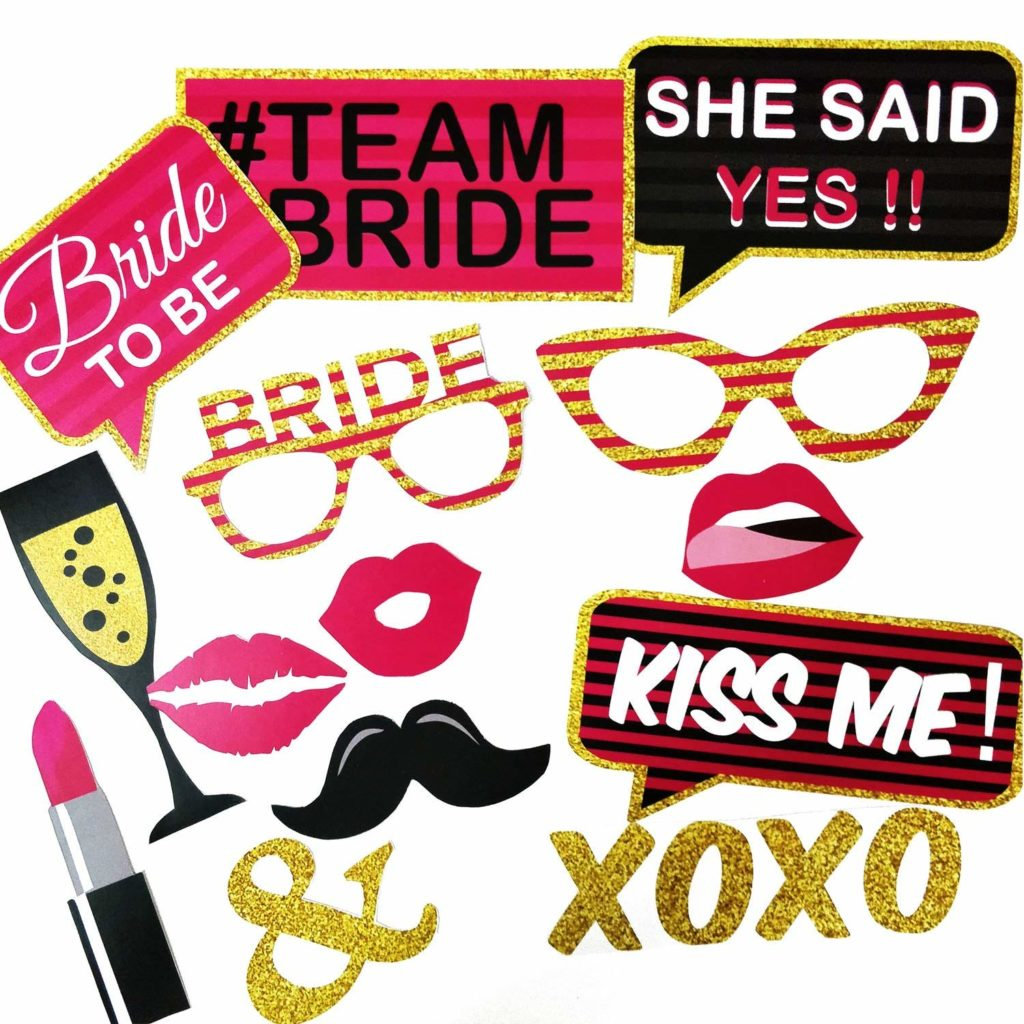 Bride to Be Hen Party Decor Ideas and Props