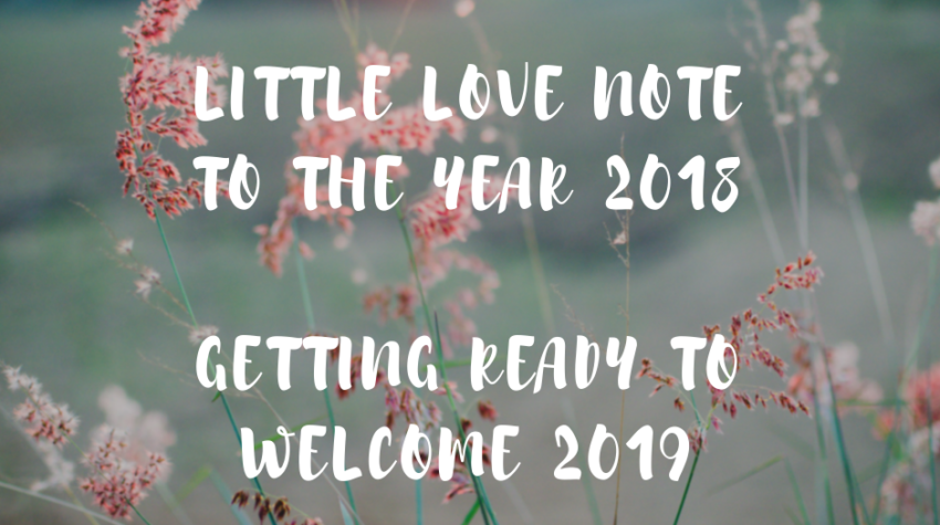 love note to the year 2018