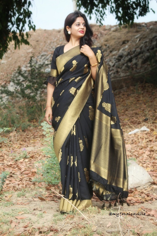 Six Yards of Saree - OOTD Post