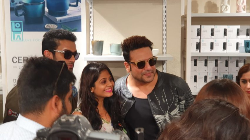 Hetal Shah from MyFashionVilla with Krushna Abhishek