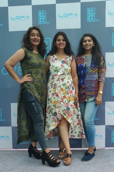 Team MyFashionVilla at LOFA Ahmedanad Launch
