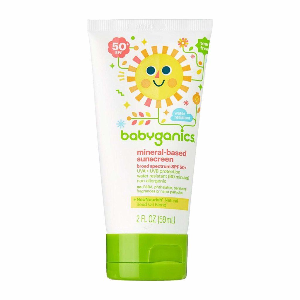 Babyganics Sunscreen Lotion