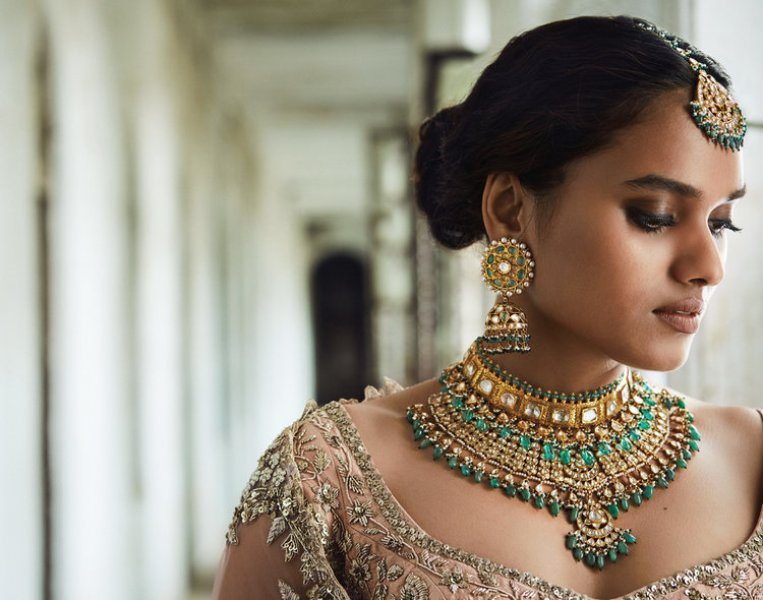 Gemstone Bridal Jewellery