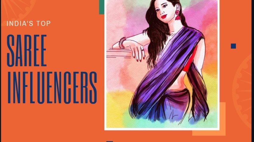 India-top-saree-influencers