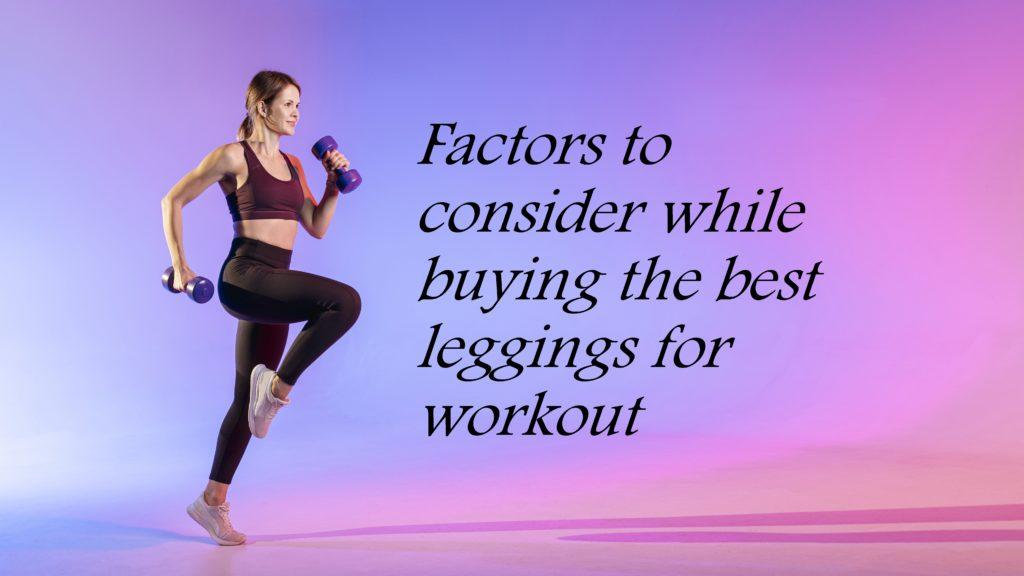 buying the best leggings